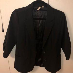 Black blazer from Nordstrom